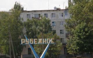 Ощадбанк Рубежное: адреса отделений и банкоматов